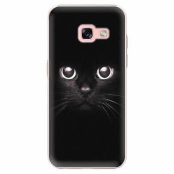 Plastové pouzdro iSaprio - Black Cat - Samsung Galaxy A3 2017