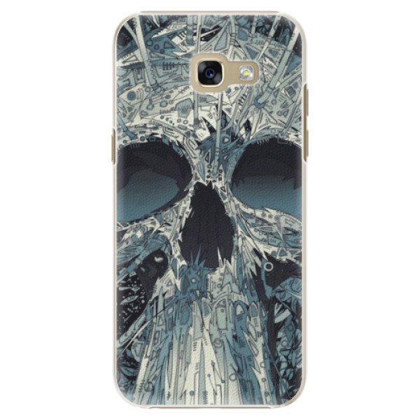 Plastové pouzdro iSaprio - Abstract Skull - Samsung Galaxy A5 2017