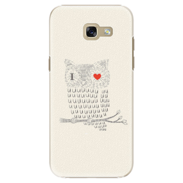Plastové pouzdro iSaprio - I Love You 01 - Samsung Galaxy A5 2017