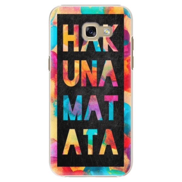 Plastové pouzdro iSaprio - Hakuna Matata 01 - Samsung Galaxy A5 2017