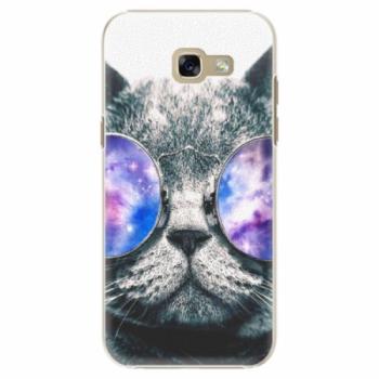 Plastové pouzdro iSaprio - Galaxy Cat - Samsung Galaxy A5 2017