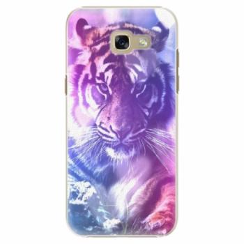 Plastové pouzdro iSaprio - Purple Tiger - Samsung Galaxy A5 2017