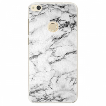 Plastové pouzdro iSaprio - White Marble 01 - Huawei P8 Lite 2017