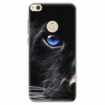 Plastové pouzdro iSaprio - Black Puma - Huawei P8 Lite 2017