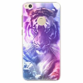 Plastové pouzdro iSaprio - Purple Tiger - Huawei P8 Lite 2017