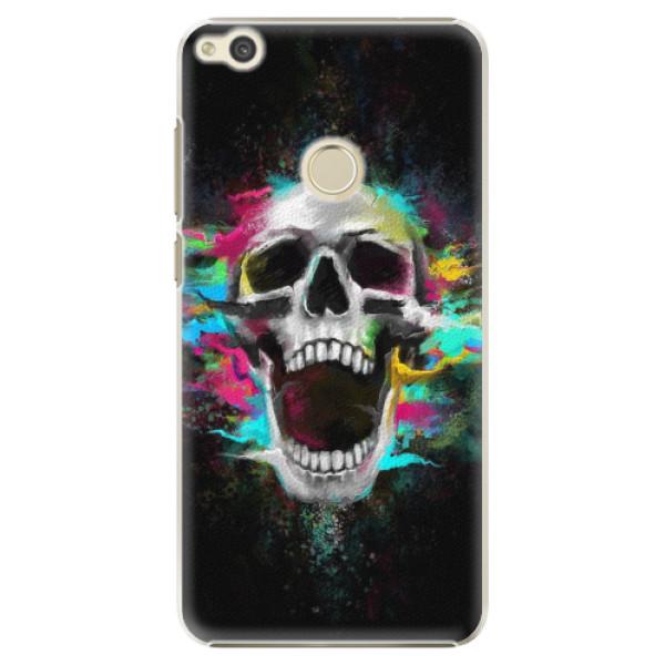 Plastové pouzdro iSaprio - Skull in Colors - Huawei P9 Lite 2017