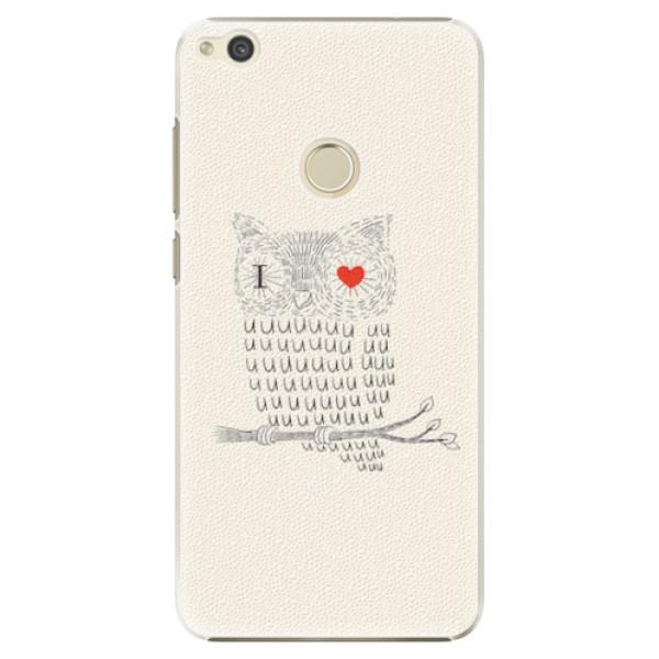 Plastové pouzdro iSaprio - I Love You 01 - Huawei P9 Lite 2017