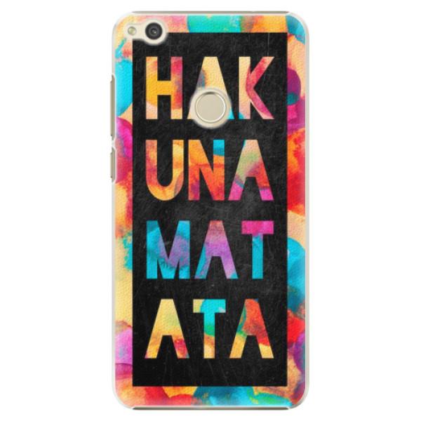 Plastové pouzdro iSaprio - Hakuna Matata 01 - Huawei P9 Lite 2017
