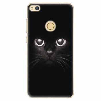 Plastové pouzdro iSaprio - Black Cat - Huawei Honor 8 Lite