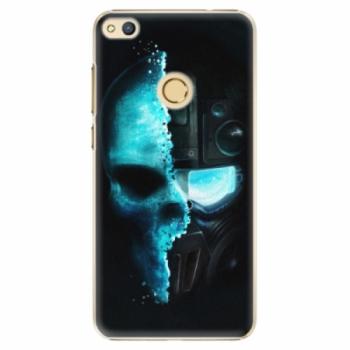 Plastové pouzdro iSaprio - Roboskull - Huawei Honor 8 Lite