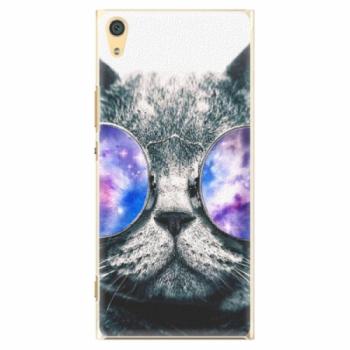 Plastové pouzdro iSaprio - Galaxy Cat - Sony Xperia XA1 Ultra