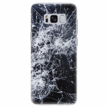 Plastové pouzdro iSaprio - Cracked - Samsung Galaxy S8