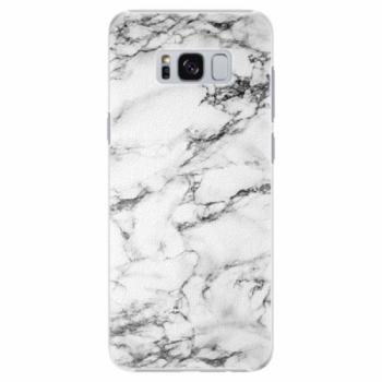 Plastové pouzdro iSaprio - White Marble 01 - Samsung Galaxy S8