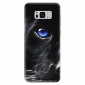 Plastové pouzdro iSaprio - Black Puma - Samsung Galaxy S8