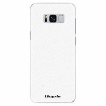 Plastové pouzdro iSaprio - 4Pure - bílý - Samsung Galaxy S8
