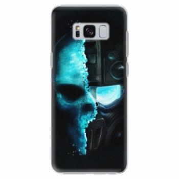 Plastové pouzdro iSaprio - Roboskull - Samsung Galaxy S8