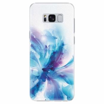 Plastové pouzdro iSaprio - Abstract Flower - Samsung Galaxy S8