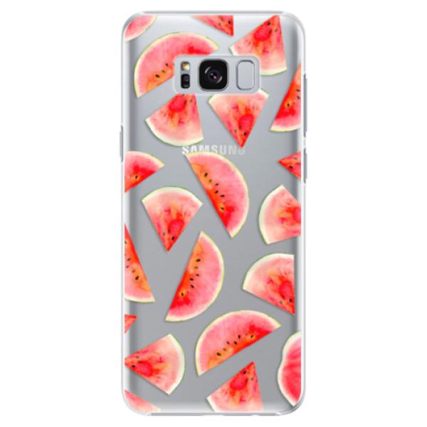 Plastové pouzdro iSaprio - Melon Pattern 02 - Samsung Galaxy S8 Plus