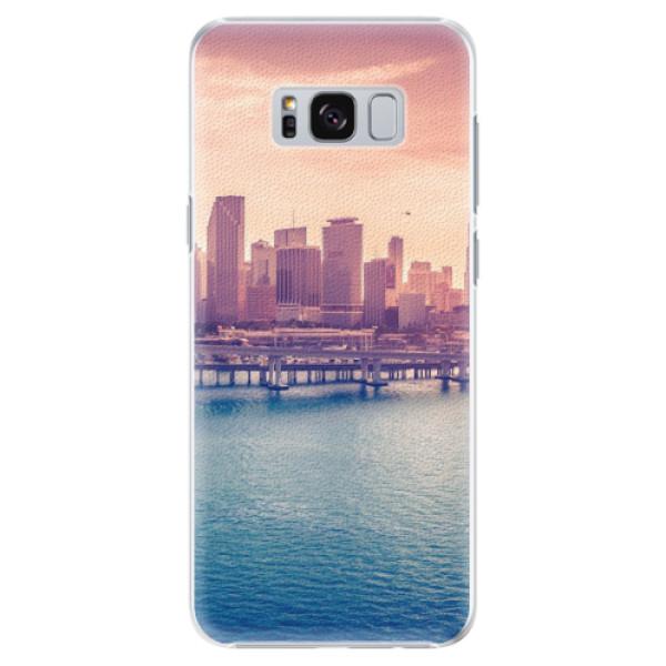 Plastové pouzdro iSaprio - Morning in a City - Samsung Galaxy S8 Plus