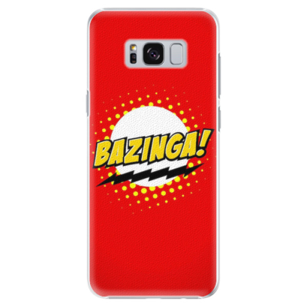 Plastové pouzdro iSaprio - Bazinga 01 - Samsung Galaxy S8 Plus