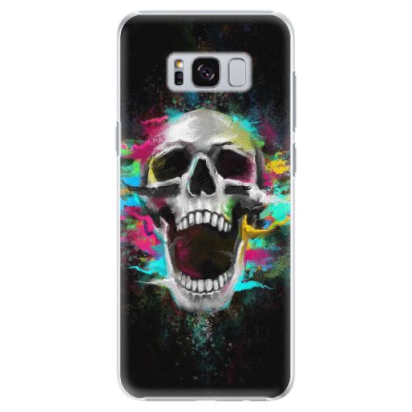 Plastové pouzdro iSaprio - Skull in Colors - Samsung Galaxy S8 Plus