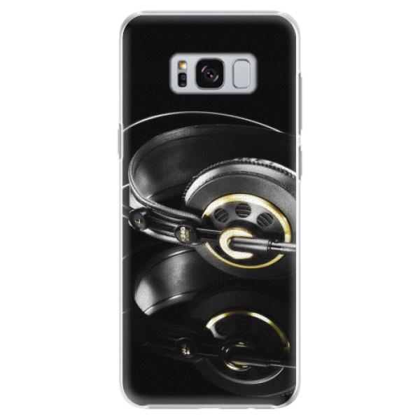 Plastové pouzdro iSaprio - Headphones 02 - Samsung Galaxy S8 Plus