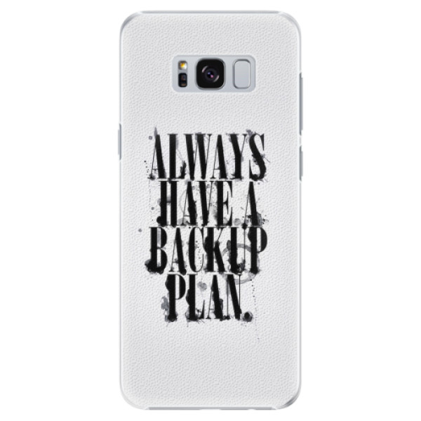 Plastové pouzdro iSaprio - Backup Plan - Samsung Galaxy S8 Plus