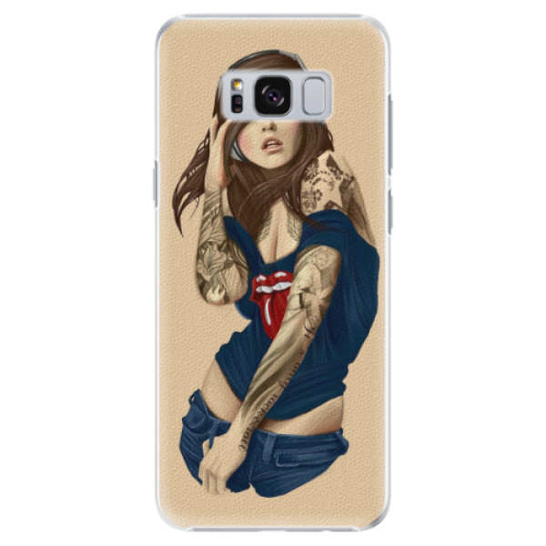 Plastové pouzdro iSaprio - Girl 03 - Samsung Galaxy S8 Plus