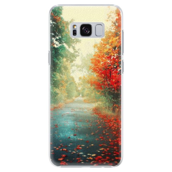 Plastové pouzdro iSaprio - Autumn 03 - Samsung Galaxy S8 Plus