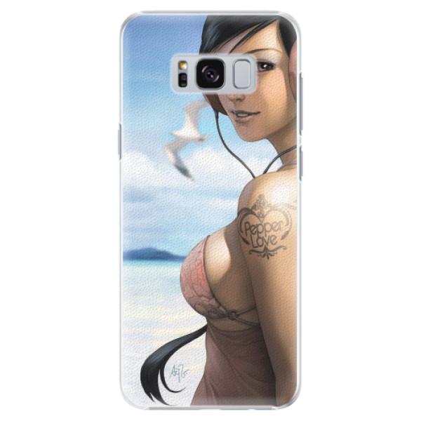 Plastové pouzdro iSaprio - Girl 02 - Samsung Galaxy S8 Plus