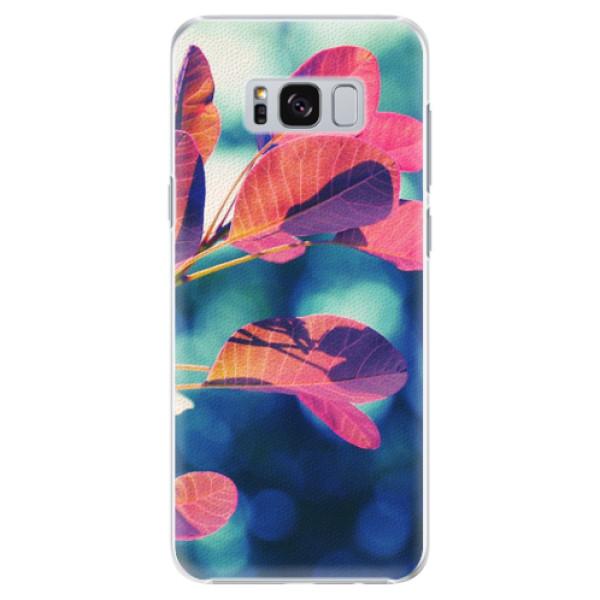 Plastové pouzdro iSaprio - Autumn 01 - Samsung Galaxy S8 Plus