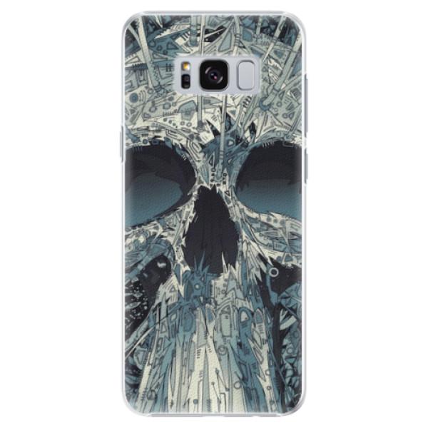 Plastové pouzdro iSaprio - Abstract Skull - Samsung Galaxy S8 Plus