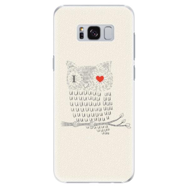 Plastové pouzdro iSaprio - I Love You 01 - Samsung Galaxy S8 Plus