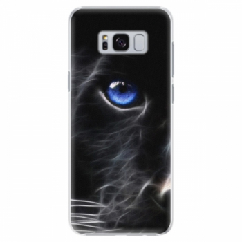 Plastové pouzdro iSaprio - Black Puma - Samsung Galaxy S8 Plus