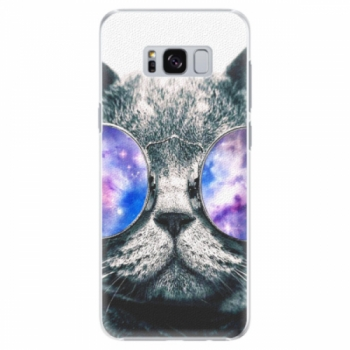 Plastové pouzdro iSaprio - Galaxy Cat - Samsung Galaxy S8 Plus