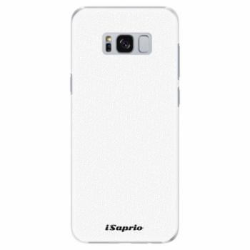 Plastové pouzdro iSaprio - 4Pure - bílý - Samsung Galaxy S8 Plus