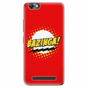 Plastové pouzdro iSaprio - Bazinga 01 - Lenovo Vibe C
