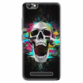 Plastové pouzdro iSaprio - Skull in Colors - Lenovo Vibe C
