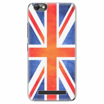 Plastové pouzdro iSaprio - UK Flag - Lenovo Vibe C