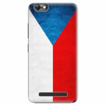Plastové pouzdro iSaprio - Czech Flag - Lenovo Vibe C