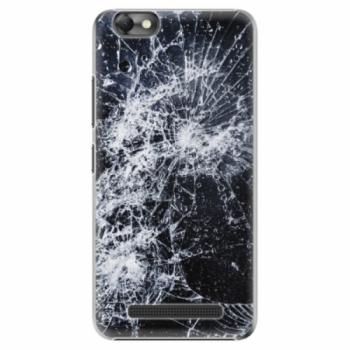 Plastové pouzdro iSaprio - Cracked - Lenovo Vibe C