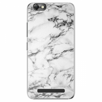 Plastové pouzdro iSaprio - White Marble 01 - Lenovo Vibe C