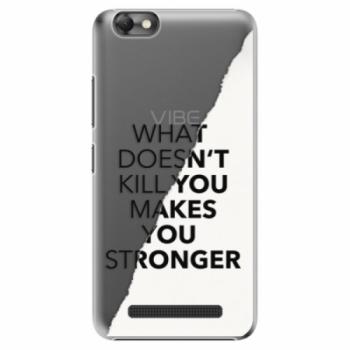 Plastové pouzdro iSaprio - Makes You Stronger - Lenovo Vibe C