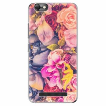 Plastové pouzdro iSaprio - Beauty Flowers - Lenovo Vibe C