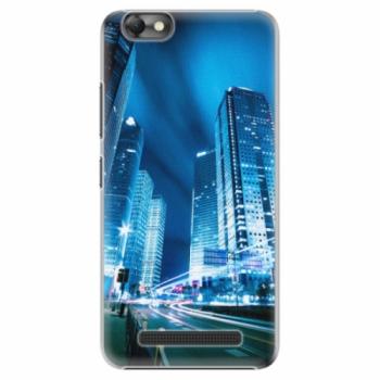 Plastové pouzdro iSaprio - Night City Blue - Lenovo Vibe C