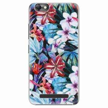 Plastové pouzdro iSaprio - Tropical Flowers 05 - Lenovo Vibe C