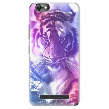 Plastové pouzdro iSaprio - Purple Tiger - Lenovo Vibe C