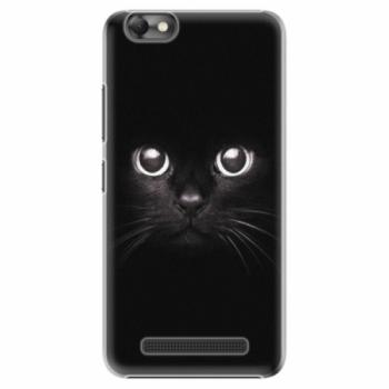 Plastové pouzdro iSaprio - Black Cat - Lenovo Vibe C