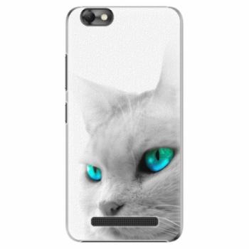 Plastové pouzdro iSaprio - Cats Eyes - Lenovo Vibe C