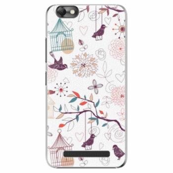 Plastové pouzdro iSaprio - Birds - Lenovo Vibe C